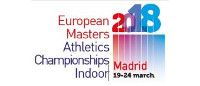 Madrid 2018 - European Masters Athletics Indoor Championships